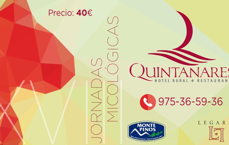 Menú Jornadas Micológicas Soria 2018