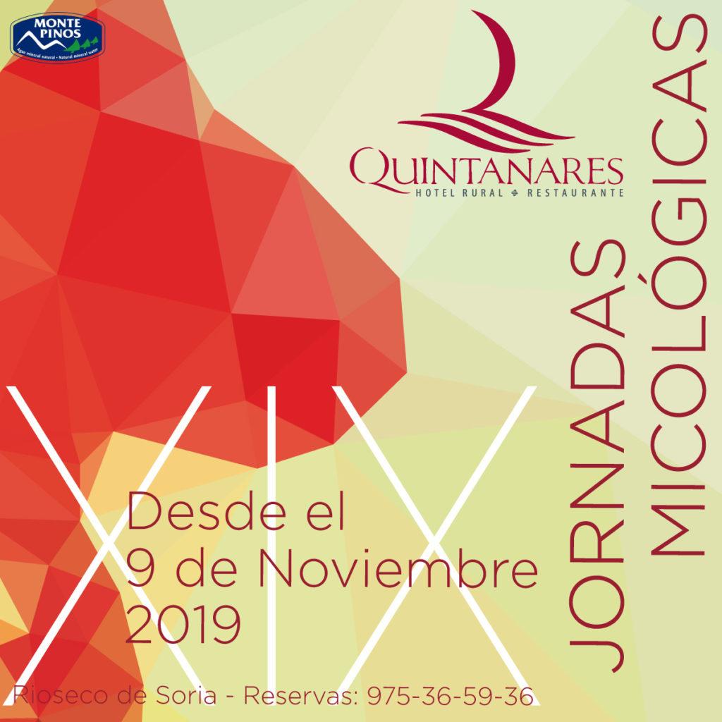 Jornadas Micológicas en Soria 2019 Portada