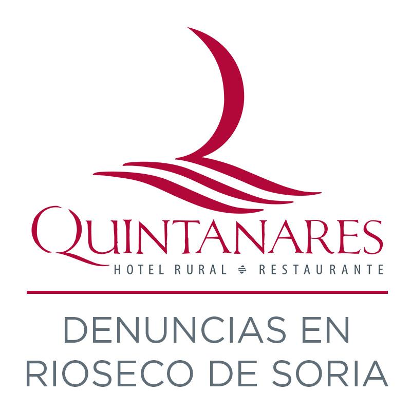 Denuncias en Rioseco de Soria portada