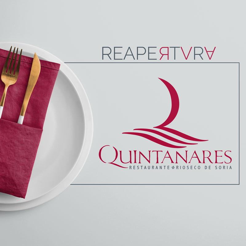Reapertura Restaurante Quintanares portada
